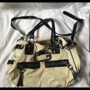 Guess purse with some wear but still a great bag